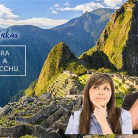 Antes de viajar a Machu Picchu en Cusco