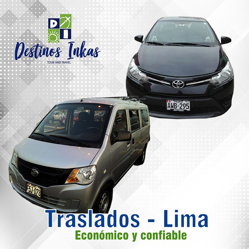 Traslados - Destinos Inkas
